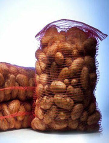 Δικτυωτοί Σάκκοι για φρούτα πατάτες